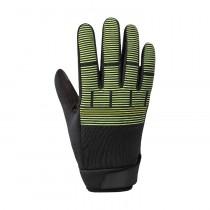 Shimano windbreak thermal reflective gants de cyclisme neon jaune