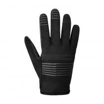 Shimano early winter gants de cyclisme noir