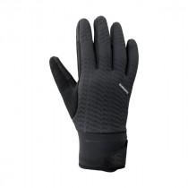 Shimano windbreak gants de cyclisme noir