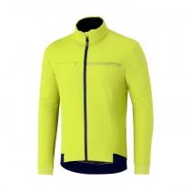 Shimano windbreak veste de cyclisme neon jaune