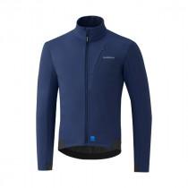 Shimano wind veste de cyclisme bleu