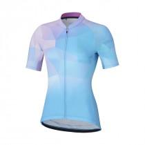 Shimano Dames Shirt Mizuki Blauw/Pink