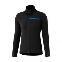 Shimano thermal winter maillot de cyclisme manches longues femme noir