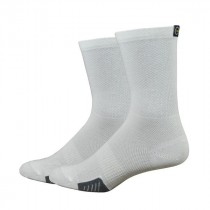 Defeet cyclismo chaussetes cycliste blanc