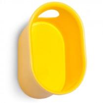 Cycloc loop helm en accessoires ophangsysteem geel