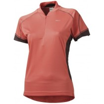 AGU Verrado Lady Shirt KM Salmon Red