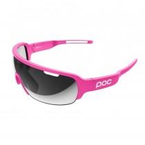 Poc half blade Education First fietsbril fluo roze