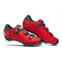 Sidi dragon 5 srs chaussures de vtt rouge mat noir