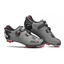 Sidi drako 2 srs chaussures de vtt gris mat noir