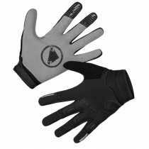 Endura singletrack gants de cyclisme coupe-vent noir