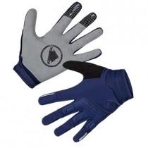 Endura singletrack gants de cyclisme coupe-vent navy