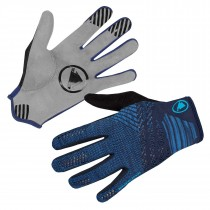 Endura singletrack lite knit gants de cyclsime navy bleu