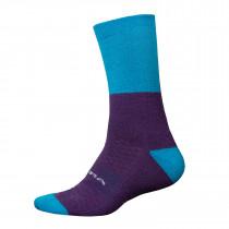 Endura BaaBaa Merino Winter Sock  - Electric Blue
