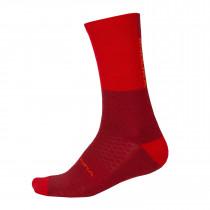 Endura BaaBaa Merino Winter Sock  - Rust Red