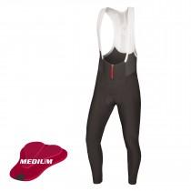 Endura pro sl cuissard de cyclisme long à bretelles noir (medium chamois)