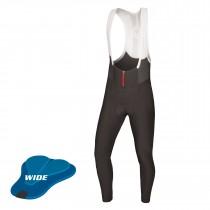 Endura pro sl cuissard de cyclisme long à bretelles noir (wide chamois)