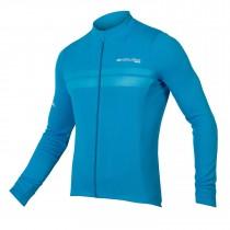 Endura pro SL maillot de cyclisme manches longues hi-viz bleu