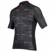 Endura geologic maillot de cyclisme manches courtes noir