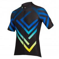 Endura psychotropical graphics maze maillot de cyclisme manches courtes noir