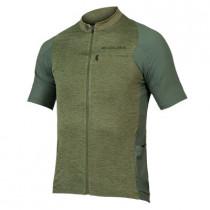 Endura Gv500 Reiver S/S Jersey - Olive Green