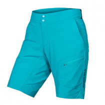Endura Women'S Hummvee Lite Short With Liner - Pacific Blue