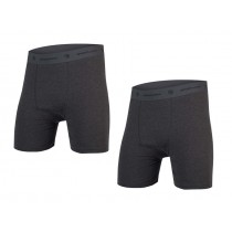 Endura bike boxer anthracite (twin pack)