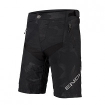 Endura Kids Mt500Jr Short With Liner - Black Camo