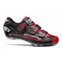 Sidi eagle 7 sr vtt chaussures de cyclisme noir rouge