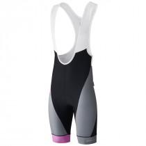 Shimano breakaway cuissard de cyclisme à  bretelles court gris