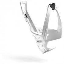Elite cannibal xc porte-bidon glossy blanc - noir logo