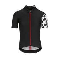 Assos equipe rs aero maillot de cyclisme manches courtes noir