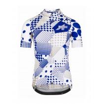Assos Erlkoenig maillot de cyclisme à manches courtes bleu