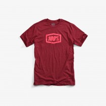 100% Essential t-shirt burgundy
