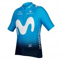 Endura Movistar team maillot de cyclisme manches courtes 2019