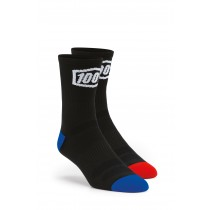 100% Terrain Socks Black