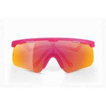 Alba Optics delta fietsbril Fucsia - Vzum - Lava lens