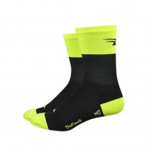 Defeet aireator high top chaussettes de cyclisme Flash