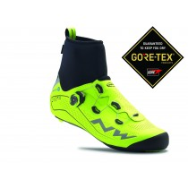 Northwave flash arctic GTX chaussures route jaune fluorescent
