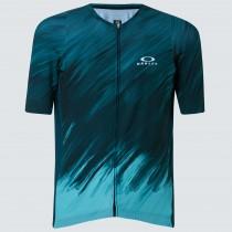 Oakley endurance 2.0 maillot de cyclisme à manches courtes pine forest vert