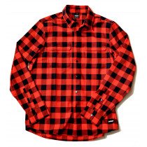 Oakley Checkered Ridge Long Sleeve - Red Line