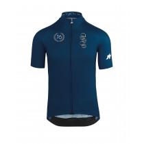 Assos campionissimo forToni maillot de cyclisme manches courtes caleum bleu