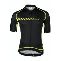 Vermarc Forza Fietsshirt PR.R Korte Mouw Zwart