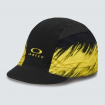 Oakley cycling painter casquette cyclist radiant jaune