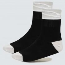 Oakley 3.0 chaussettes de cyclisme blackout noir