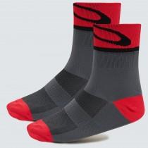 Oakley 3.0 chaussettes de cyclisme uni form gris
