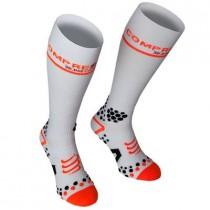 COMPRESSPORT Full Socks White V2