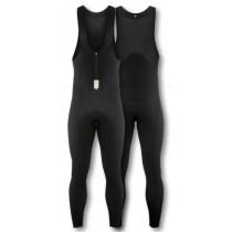 De Marchi perfecta thermal cuissard de cyclisme longues à bretelles noir