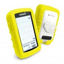 Tuffluv garmin edge 820 siliconen hoes geel