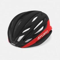 Giro syntax casque de cyclisme noir mat bright rouge