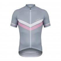 De Marchi granturismo maillot de cyclisme manches courtes gris